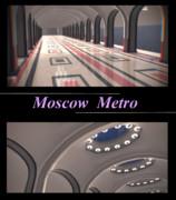 【MMDステージ配布】モスクワメトロの駅