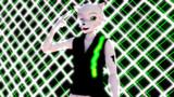 MMD UTAU獣人 噤音セロ