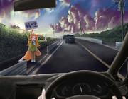運転手 「…!!!!? 」