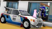 ルカさんの車