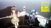 しょうこりもなくフォトジェミックトレーニング。地球岬であぴミクちゃんとGUMIさんと。