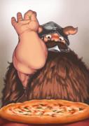 ダンジョンピザ+マルしお