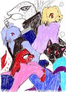 少年ジャンプの人気漫画のキャラクターを動物化してみたってばよ3-2