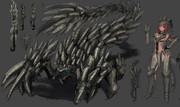 骸蠍アクラオッソ+スコーピオンナイトシリーズ