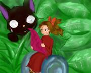 借りぐらしの小人と魔女のネコ