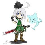 妖夢と封炎剣