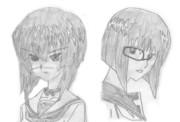 津村斗貴子・河嶋桃の傷と片眼鏡を取り替えてみた
