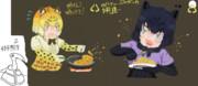 【けものフレンズ】ジャガーの食事