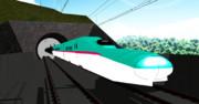 東北新幹線開業35周年記念、E5系MMDモデル配布開始