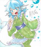 わかさぎ姫♪