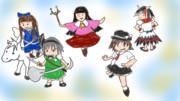 全部盛り+α【第9回東方ニコ童祭ワンドロ】