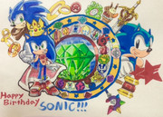 SONIC The Hedgehog Happy 26th Anniversary!!!!!!