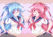 サイドテール制服眼鏡琴葉姉妹は天使