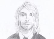 Kurt Cobain(模写)