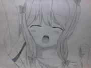 (エロマンガ先生)和泉紗霧描いてみた!#4