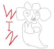 『うきょちゃんねる』WINイラスト