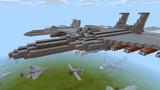 【Minecraft】改修型F-15戦闘機