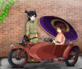 ライダー松風さんと春風さん