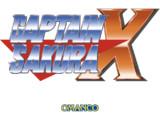 キャプテンサクラX(ロゴ)