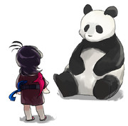 ぬえ対パンダ