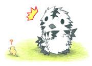 シマフクロウとツチノコ