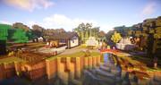 【Minecraft】夕暮れの公園