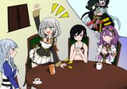 四大軍姫+αの定例会議
