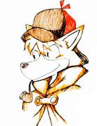 名探偵ホームズ 描いてみた (色つけ)初描き