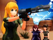 リサ&Thunder .50 BMG handgun