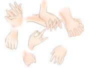 手の作図練習その2(問549:文字無し版)