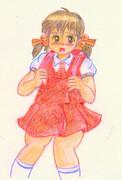 ・・某歌愛ユキちゃん・・単体原画