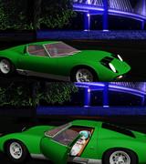 【MMD自動車】ランボルギーニ・ミウラP400SV