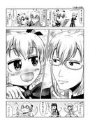 東方壱枚漫画録77「共通の話題」