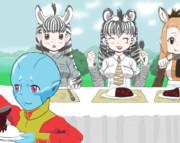 【けものフレンズ】みんなで食事