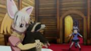 フェネックとアライグマ。(MMDけもフレ)