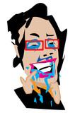 マキさん、歯磨き