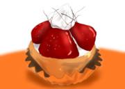 苺のミニタルト