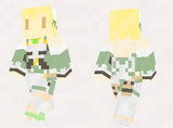 【minecraft】スイレン(ジューンブライド) スキン(サンプル)