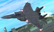 【MMDモデル配布】F-15J Version0.56