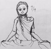 5分スケッチ 17/7/9