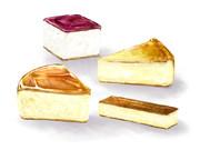 欲張りチーズケーキ