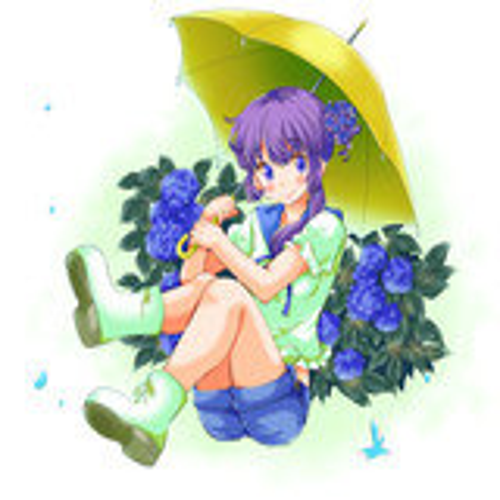 紫陽花少女