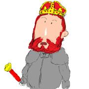 サレフ川の向こうにエルサレムを見つけた赤髭王