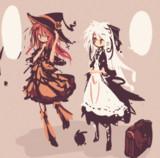 魔女とメイド