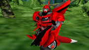 MMD transformers prime Jayden the fox autobot