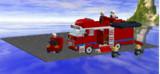 LDDで水難救助車作ってみた。