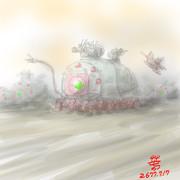 多脚式重装甲MA「ボーム」