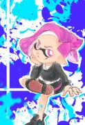 ボーイポニテガール(ピンク)