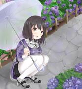 羽黒さんと梅雨のデート