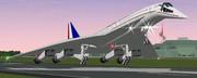 ロッキード超音速旅客機 L-2000【モデル配布】
